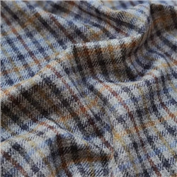 Rockall - Multicoloured Gingham Check Donegal Tweed