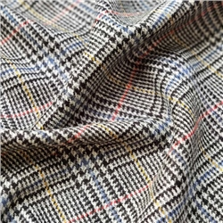 Magee 1866 Rockall - Multicoloured Glen Check Donegal Tweed