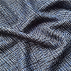 Magee 1866 Rockall - Blue Glen Check Donegal Tweed