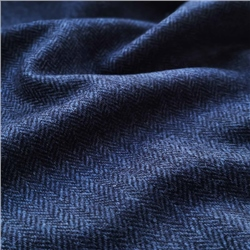Magee 1866 Rockall - Navy Herringbone Donegal Tweed