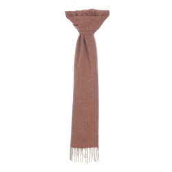Magee 1866 Orange Herringbone Scarf