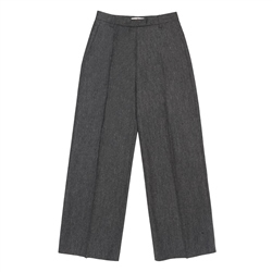 Magee 1866 Willow Cropped Trousers in Black Salt & Pepper