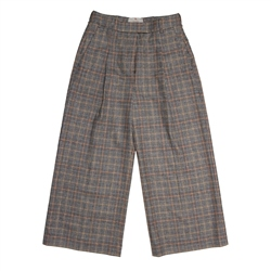 Magee 1866 Willow Cropped Trousers in Glencheck