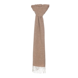 Cream & Orange Broken Twill Scarf