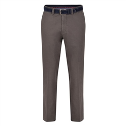 Magee 1866 Grey Dungloe Classic Washed Classic Fit Trousers