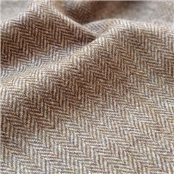 Magee 1866 Rockall - Brown Herringbone Donegal Tweed