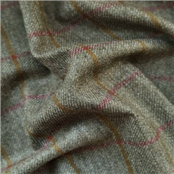 Magee 1866 Rockall - Green Coloured Check Donegal Tweed