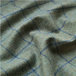Magee 1866 Rockall - Green and Blue Check Donegal Tweed