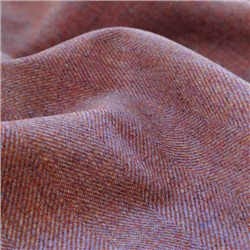 Interiors Limited Edition - Lavender and Orange Herringbone Donegal Tweed