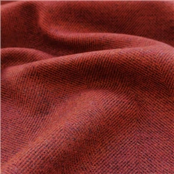 Magee 1866 Interiors Limited Edition - Crimson Red Herringbone Donegal Tweed