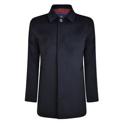 Navy Edergole Coat