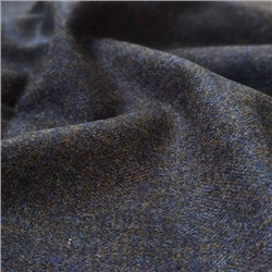 Interiors Limited Edition - Brown and Blue Herringbone Donegal Tweed
