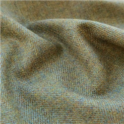 Interiors Limited Edition - Green Herringbone Donegal Tweed