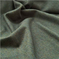 Magee 1866 Interiors Limited Edition - Green Herringbone Donegal Tweed