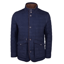 Glenveigh Quilted Jacket in Deep Blue