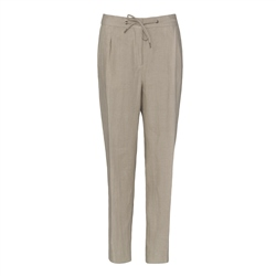 Magee 1866 Tina Irish linen Trouser in Oat