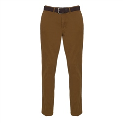 Magee 1866 Dungloe Washed Cotton Chino in Copper