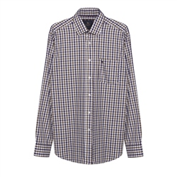 Magee 1866 Tullagh Gingham Shirt in Multicoloured Check