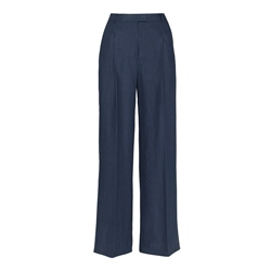 Magee 1866 Willow Irish Linen Trousers in Navy