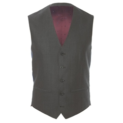 Grey Mix & Match 3-Piece Tailored Fit Suit Waistcoat