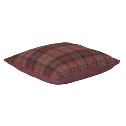 "Magee Clothing 18"" Two Tone Pink & Brown Cushion"