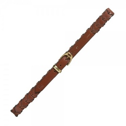 Magee Clothing Cork Soft Brown Plaited Leather Belt