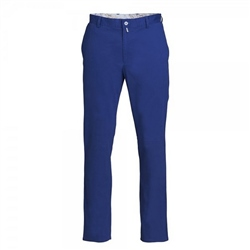 Magee Clothing Blue Cotton Chino Trousers