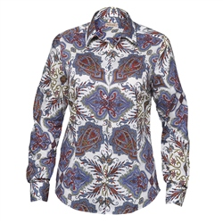 Magee Clothing Lilac Liberty Print Shirt