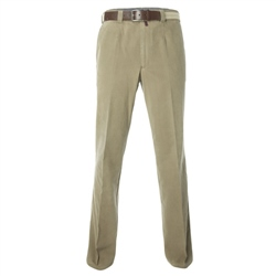 Magee Clothing Beige Cotton Stretch Chino