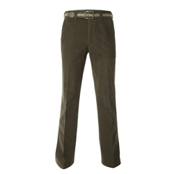 Magee Clothing Dark Green Cotton Stretch Chino