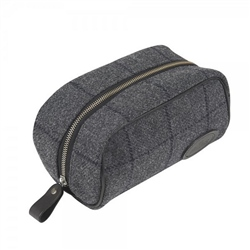 Magee 1866 Grey & Navy Large Washbag