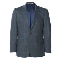 Magee Clothing Blue Lightweight Wool Blazer