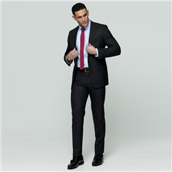 Grey Wool Mix & Match Travel Suit Trouser
