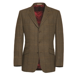 Magee Clothing Blue and Yellow Country Check Tweed Blazer