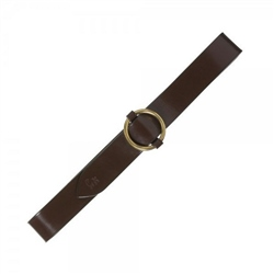 Magee Clothing Kerry Chestnut Brown Leather Belt