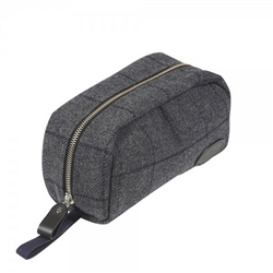 Magee Clothing Grey and Navy Small Washbag