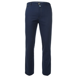 Magee Clothing Tully Navy Cotton Canvas Regular Fit Chinos