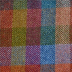 Magee Clothing Multi Coloured Patchwork Donegal Tweed