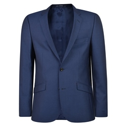 Cobalt Blue Travel Mix & Match 3-Piece Suit Jacket