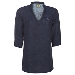 Magee 1866 Navy Linen Short Tunic