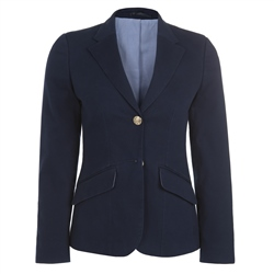 Magee Clothing Navy Cotton Blazer