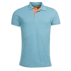 Magee Clothing Turquoise Cotton 1866 Polo Shirt