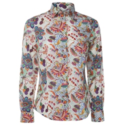 Magee 1866 Multicoloured Liberty Floral Print Shirt