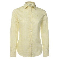 Magee Clothing Yellow Liberty Floral Print Shirt