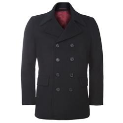 Magee 1866 Dark Navy Double Breasted Peacoat Jacket