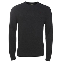 Magee Clothing Grey Merino Wool Jumper