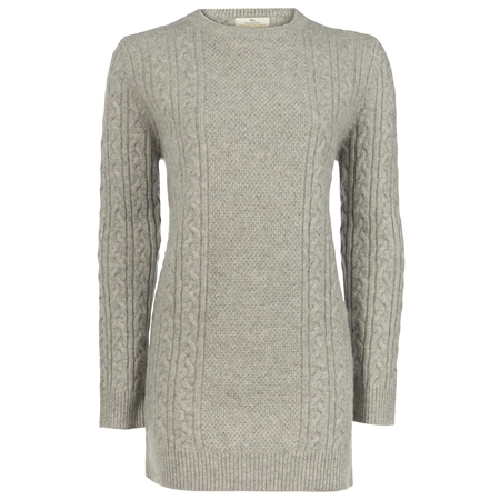 Magee 1866 - Grey Cashmere Carina Sweater