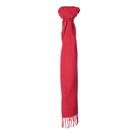 Pink Luxury Hopsack Scarf  - Click to view a larger image