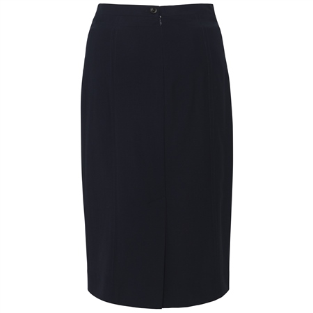 Navy Dana Pencil Skirt  - Click to view a larger image