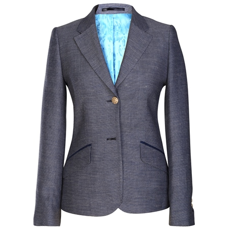 Blue Alicia Nautical Themed Blazer   - Click to view a larger image